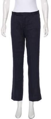L'Agence Mid-Rise Pinstripe Pants