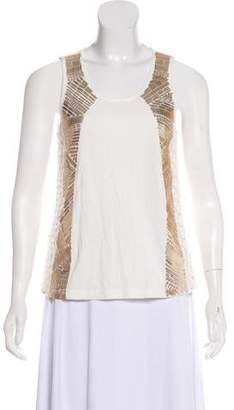 Pierre Balmain Embellished Tank Top