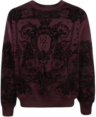Dolce & Gabbana Floral All-over Print Sweatshirt