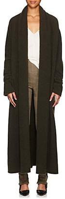 The Row Women's Gioli Cashmere-Blend Long Cardigan - Dark Olive