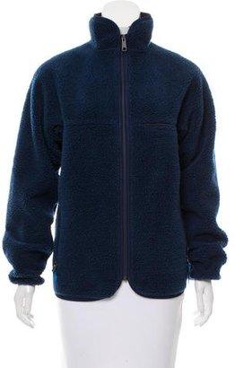 Patagonia Fleece Zip-Up Jacket $75 thestylecure.com