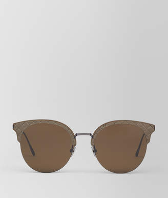 Bottega Veneta BROWN METAL SUNGLASSES