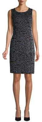 Nipon Boutique Printed Sheath Dress