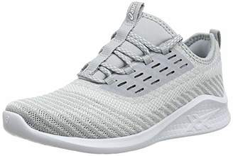 Asics Women's Fuzetora Twist Running Shoes (Mid Grey/White 020)