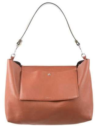 Theory Smooth Leather Satchel