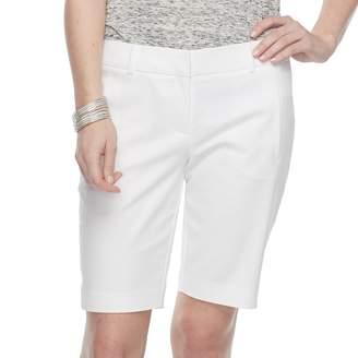 Apt. 9 Women's Torie Midrise Bermuda Shorts