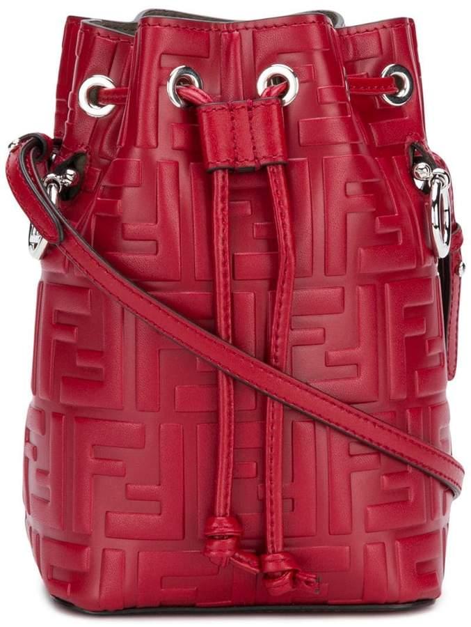 4d7ff6a805f7 Fendi Mon Tresor mini bucket bag - ShopStyle