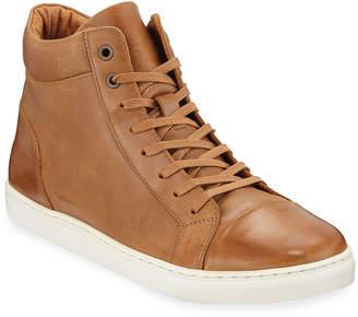 Robert Wayne Men's Daxton High-Top Leather Sneakers