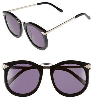 KAREN WALKER 'Super Lunar - Arrowed by Karen' 52mm Sunglasses $300 thestylecure.com
