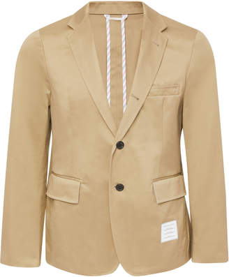 Thom Browne Slim-Fitting Cotton-Twill Blazer