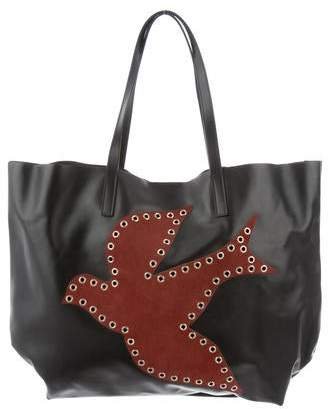 RED Valentino Grommet-Accented Shopper Tote