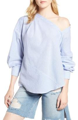 Habitual Daphne One Shoulder Cotton Top