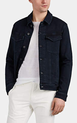 J Brand Men's Corporus Trucker Jacket - Dk. Blue