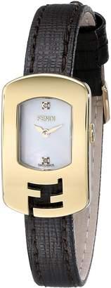 Fendi Women's F300424521D1 Chameleon Analog Display Quartz Brown Watch