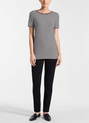 St. John Striped Jersey T-Shirt