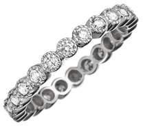 Couture SETHI Bezel Set Diamond Stacking Ring
