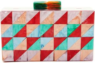 Like Dreams Geometric Box Clutch