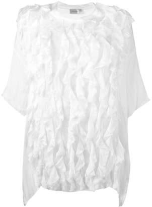 Faith Connexion oversized ruffle blouse