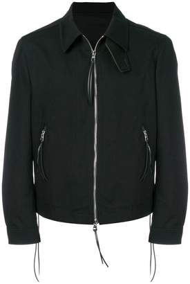Alexander McQueen zipped fitted jacket
