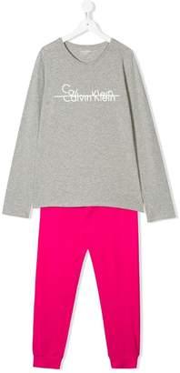 Calvin Klein Kids TEEN branded pyjamas