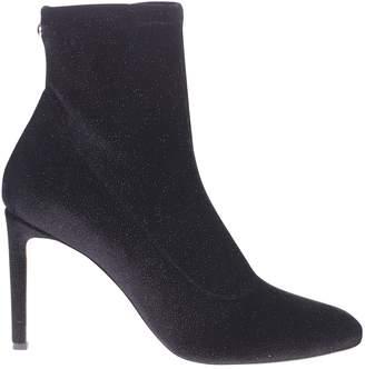Giuseppe Zanotti Black Stretch Ankle Boots