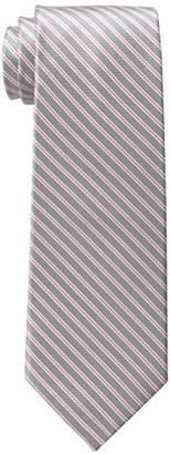 Tommy Hilfiger Men's Double Thin-Stripe Tie