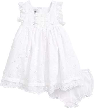Pippa & Julie Eyelet Cotton Dress