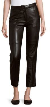 IRO Leather Cropped Pants