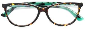 McQ Eyewear cat-eyed frame glasses