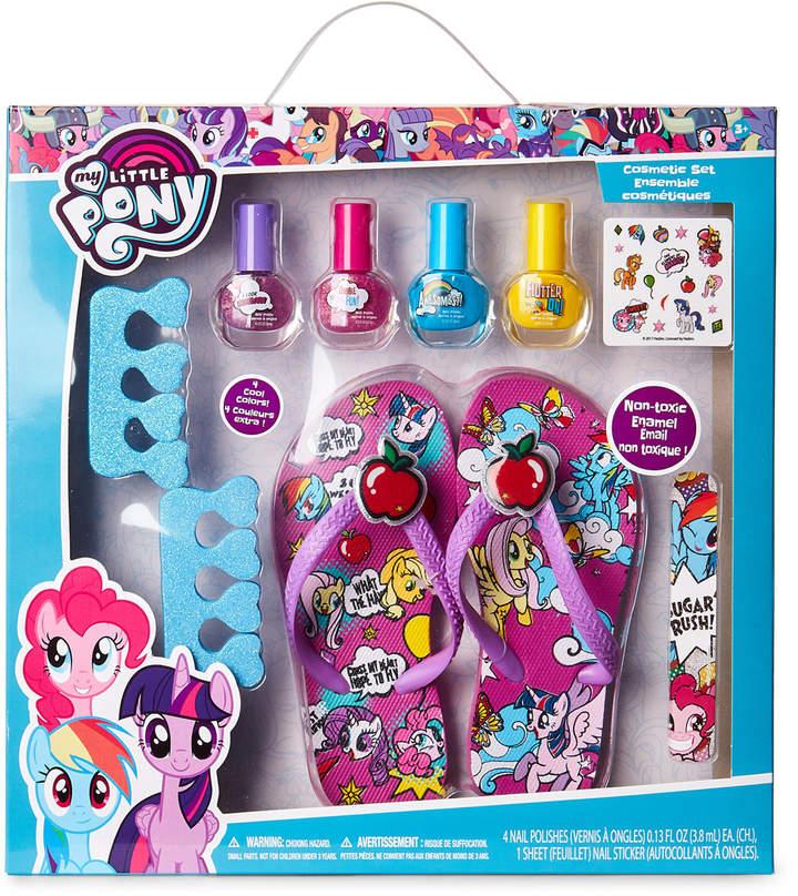 My Little Pony (Girls 4-6x) 9-Piece Pedicure Spa Set