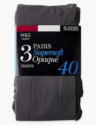 Marks and Spencer 3 Pair Pack 40 Denier Tights