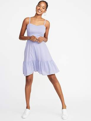 f21ab97adff0 Old Navy Fit   Flare Tiered Cami Dress for Women