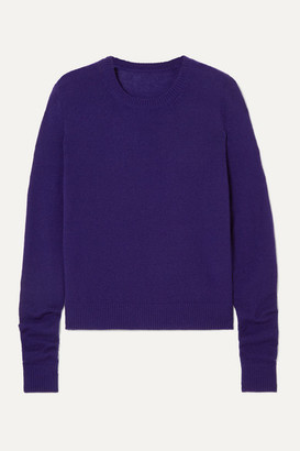 The Elder Statesman Tranquility Cashmere Sweater - Blue