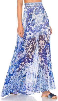 Camilla Pleated Full Hem Skirt $500 thestylecure.com