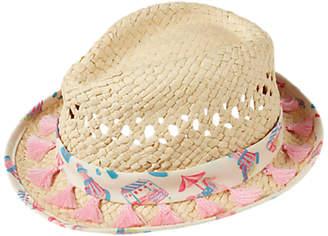 Fat Face Children's Funfair Trilby Hat, Neutral