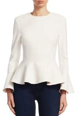 Elizabeth and James Ruthe Crewneck Ruffle Top