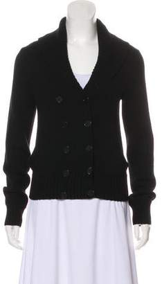 Ralph Lauren Black Label Double-Breasted Cashmere Cardigan