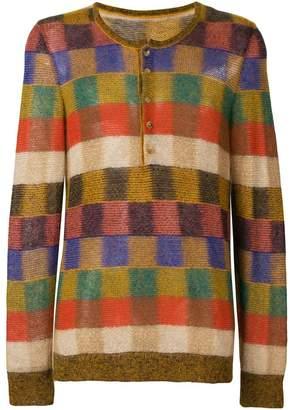 Missoni square pattern sweater