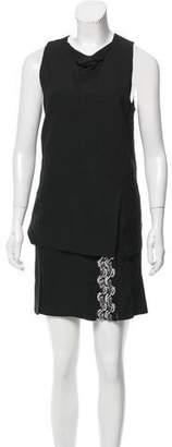 3.1 Phillip Lim Embellished Asymmetrical Dress