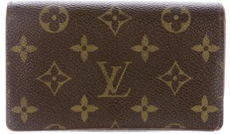 Louis VuittonLouis Vuitton Porte-Monnaie Billets Trèsor Wallet