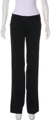 CNC Costume National Low-Rise Wide-Leg Jeans Black Low-Rise Wide-Leg Jeans
