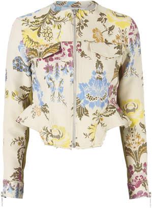 Marques Almeida Marques' Almeida Brocade Floral Jacket