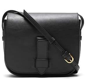 Banana Republic Italian Leather Saddle Bag