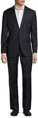 Saks Fifth Avenue Extra Slim Fit Wool Notch Lapel Suit