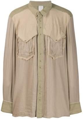 Carpe Diem loose fit overshirt