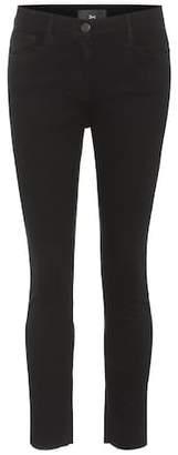 3x1 W2 Mid Rise crop jeans