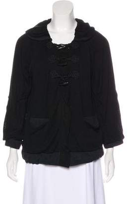Marc by Marc Jacobs Hooded Knit Sweatshirt