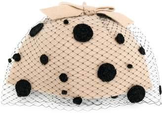 Le Chapeau polka dot arm cuffs