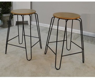 Carolina Chair and Table Townsley 24 in. Backless Counter Stool
