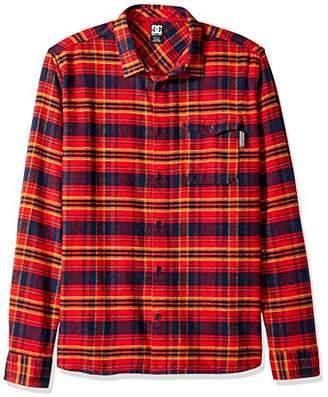 DC Men's Marsha Long Sleeve Flannel Shirt